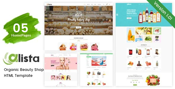 [Free Download] Alista – Organic Beauty Shop HTML Template (Nulled) [Latest Version]