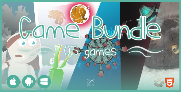 [Free Download] 5 Games Bundle 02 • 50% OFF • HTML5 + C2 Games (Nulled) [Latest Version]