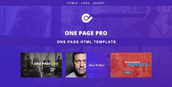[Free Download] One Page Pro – Multi Purpose HTML Template (Nulled) [Latest Version]