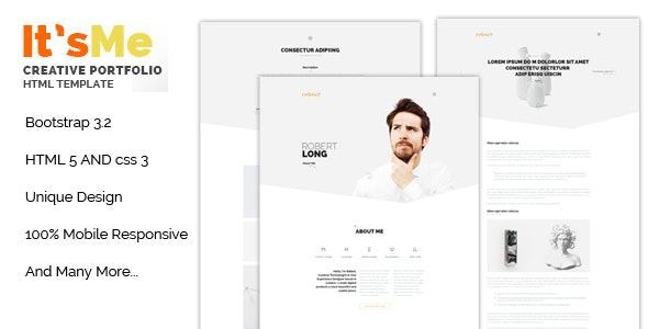 [Free Download] It's Me Creative Portfolio Responsive HTML Templat (Nulled) [Latest Version]