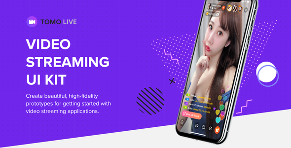 [Free Download] TOMO Video Streaming UI Kit for Adobe XD (Nulled) [Latest Version]