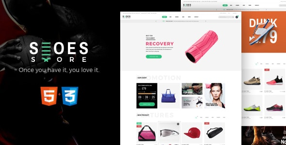 [Free Download] Shoes – eCommerce HTML5 Template (Nulled) [Latest Version]