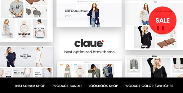 [Free Download] Claue – Clean, Minimal HTML5 Template (Nulled) [Latest Version]