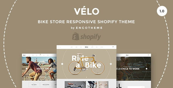 [Free Download] Velo – Bike Store Responsive Shopify Theme (Nulled) [Latest Version]