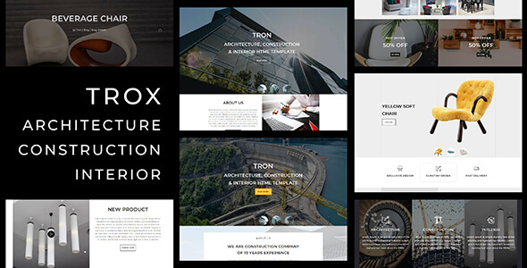 [Free Download] Trox_Architecture, Interior, Construction HTML Template (Nulled) [Latest Version]