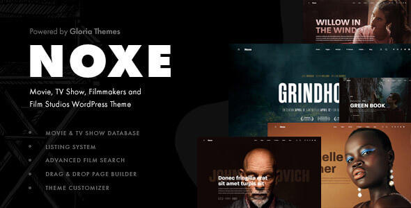 [Free Download] Noxe – Movie Studios and Filmmakers WordPress Theme (Nulled) [Latest Version]