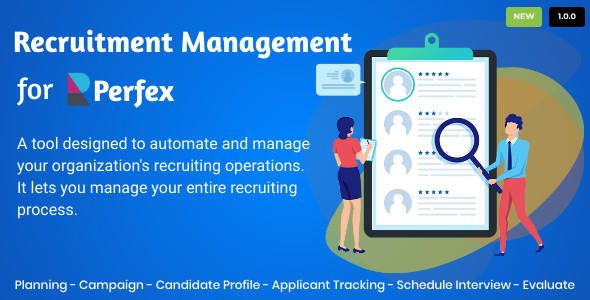 [Free Download] Recruitment Management for Perfex CRM (Nulled) [Latest Version]