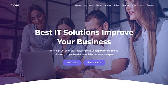 [Free Download] Sora – IT Solutions & Agency HTML Template (Nulled) [Latest Version]