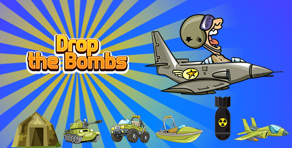 [Free Download] Drop the Bombs (CAPX and HTML5) (Nulled) [Latest Version]