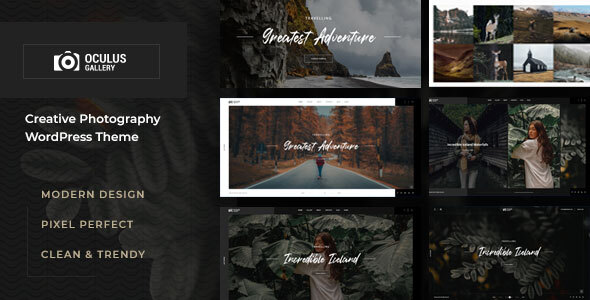 [Free Download] Oculus – Photography WordPress Theme (Nulled) [Latest Version]