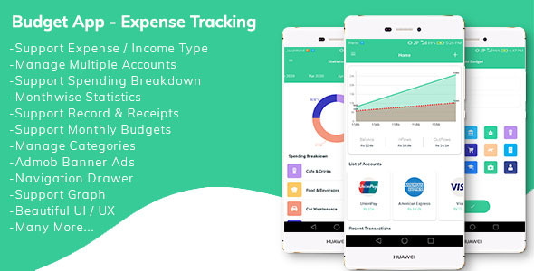 [Free Download] Budget App – Personal Expense Tracking App (Nulled) [Latest Version]