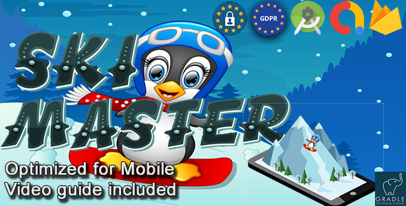 [Free Download] Ski Master (Admob + GDPR + Android Studio) (Nulled) [Latest Version]