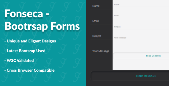 [Free Download] Fonseca – Bootstrap Forms (Nulled) [Latest Version]