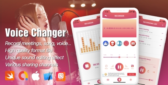 [Free Download] Voice Recorder iOS 13 support with Admob (Nulled) [Latest Version]