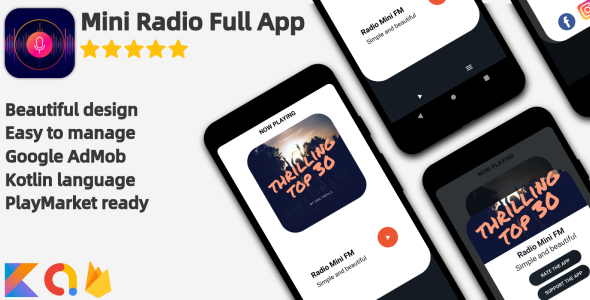 [Free Download] Radio Mini – Full Android Application (Nulled) [Latest Version]