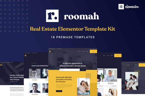 [Free Download] Roomah – Real Estate Agent Elementor Template Kit (Nulled) [Latest Version]