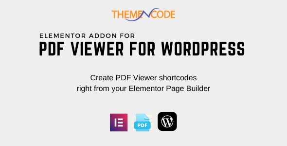 [Free Download] Elementor PDF Viewer for WordPress Addon (Nulled) [Latest Version]