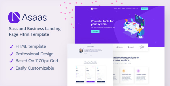 [Free Download] Asaas – Agency Landing Page Template (Nulled) [Latest Version]