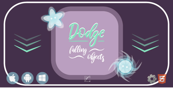 [Free Download] Dodge Falling Objects • HTML5 + C2 Game (Nulled) [Latest Version]