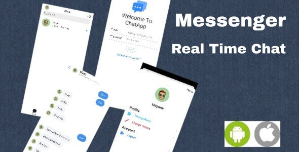 [Free Download] Messenger – Chat App IOS Android – Serverless (Nulled) [Latest Version]