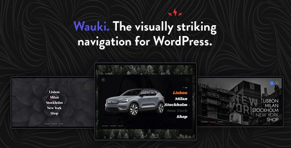 [Free Download] Wauki: Fullscreen WordPress Menu (Nulled) [Latest Version]