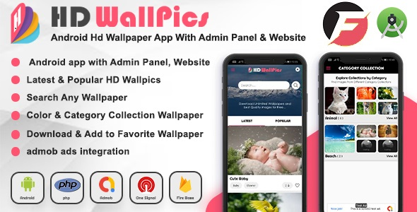 [Free Download] Android HD Wallpaper App and Website with Admin Panel (Nulled) [Latest Version]