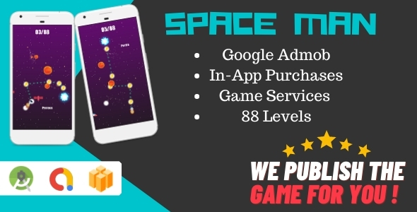 [Free Download] Space Man (Android Game With Admob + Buildbox) (Nulled) [Latest Version]