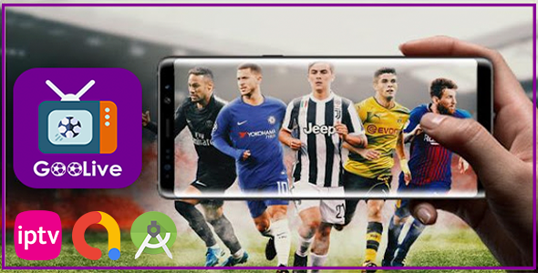 [Free Download] GoLive – IPTV Player Android App (Nulled) [Latest Version]