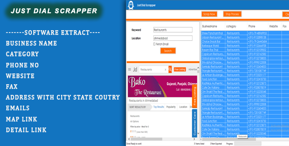 [Free Download] Just Dial Scrapper (Nulled) [Latest Version]