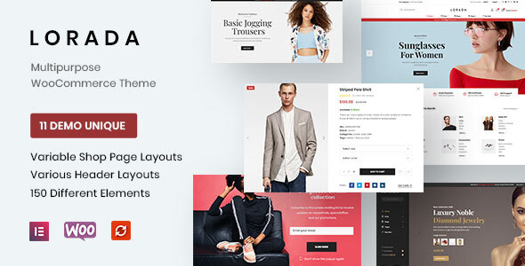 [Free Download] Lorada -Multipurpose and Responsive eCommerce Theme (Nulled) [Latest Version]