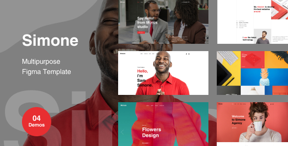 [Free Download] Simone – Multipurpose Figma Template (Nulled) [Latest Version]