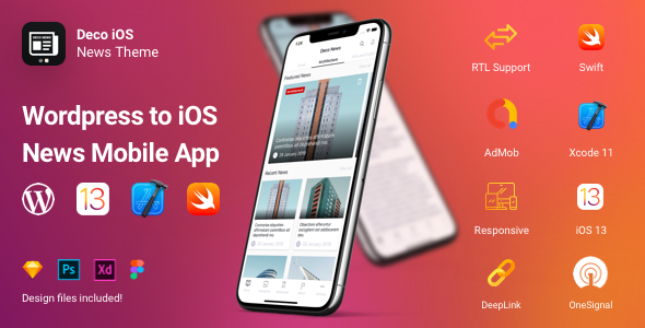 [Free Download] Deco News – iOS Mobile App for WordPress – Swift, Xcode (Nulled) [Latest Version]