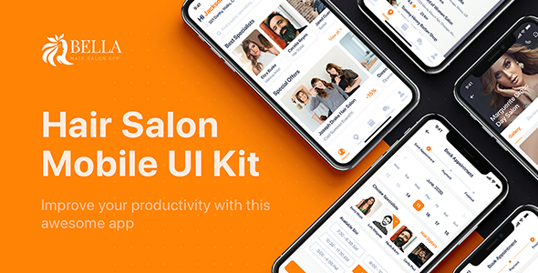 [Free Download] Bella – Hair Salon UI Kit for Figma (Nulled) [Latest Version]