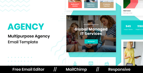 [Free Download] Agency – Responsive Email Template For Agency With Free Email Editor (Nulled) [Latest Version]
