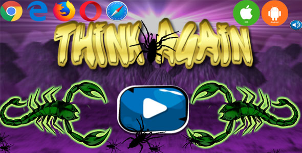 [Free Download] THINK AGAIN 2 [RPG-PUZZLE] (HTML5,Android,IOS)(CAPX) (Nulled) [Latest Version]