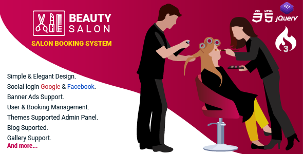 [Free Download] Salon Booking Management System (Nulled) [Latest Version]