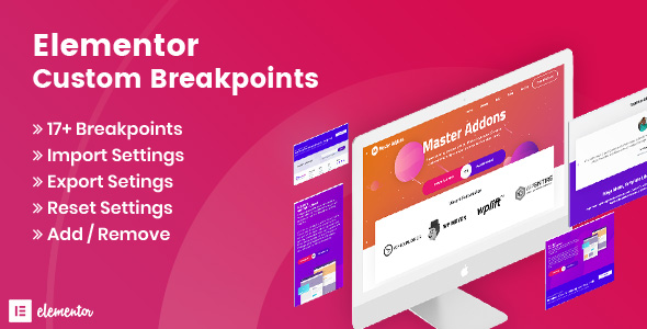 [Free Download] Elementor Custom Breakpoints (Nulled) [Latest Version]