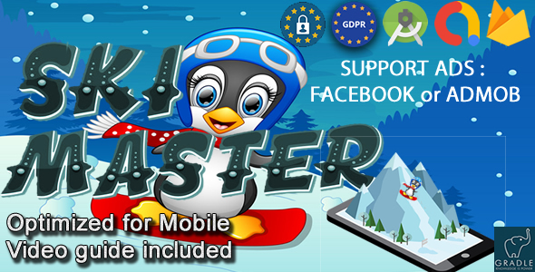 [Free Download] SKI MASTER V2 (Facebook Ads + Admob + Android Studio) (Nulled) [Latest Version]