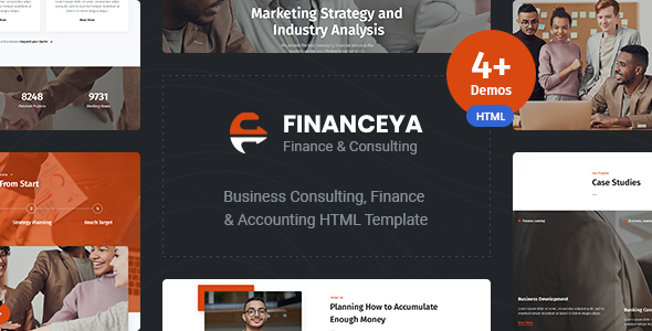 [Free Download] Financeya –  Business, Consulting & Accounting HTML5 Responsive Template (Nulled) [Latest Version]