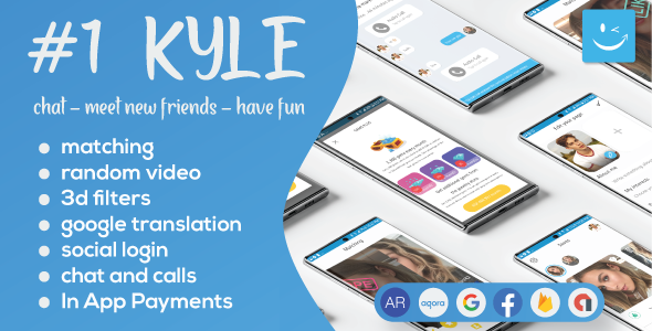 [Free Download] Kyle – Premium Random Video & Dating and Matching (Nulled) [Latest Version]