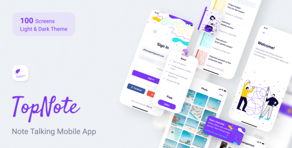 [Free Download] TopNote – Note Talking Mobile App (Nulled) [Latest Version]