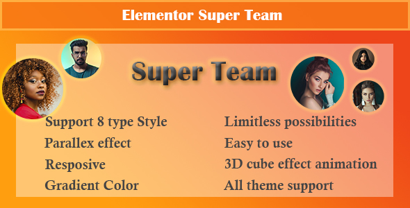 [Free Download] Elementor – Super Team (Nulled) [Latest Version]