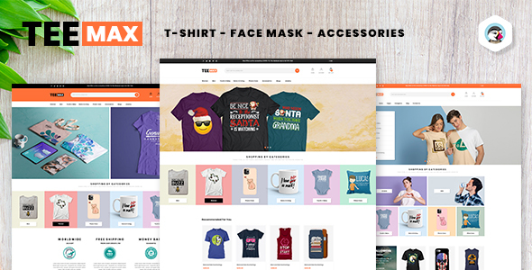 [Free Download] TeeMax | Fashion & POD T-Shirt Store Prestashop 1.7 Theme (Nulled) [Latest Version]