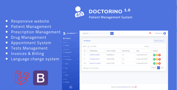 [Free Download] Doctorino – Doctor Chamber Management System (Nulled) [Latest Version]