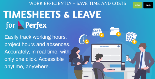 [Free Download] Timesheets and Leave Management for Perfex CRM (Nulled) [Latest Version]
