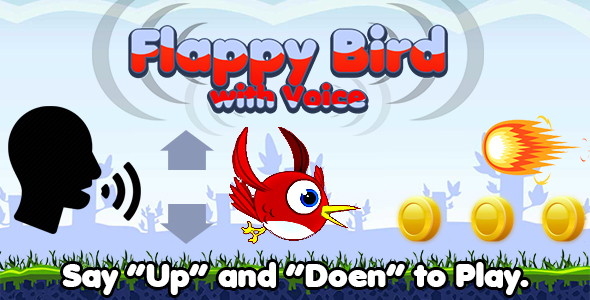 [Free Download] Flappy Bird with Voice (HTML5) Say Words to Play (Nulled) [Latest Version]