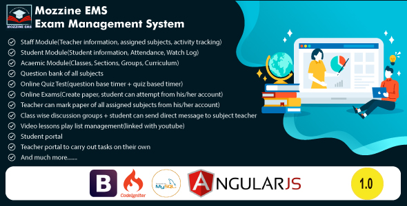 [Free Download] Online Exam Management System (Nulled) [Latest Version]