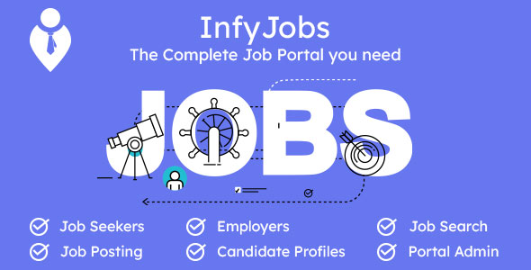 [Free Download] InfyJobs – Laravel Job Portal Script with Website (Nulled) [Latest Version]