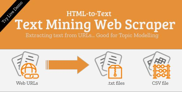 [Free Download] Text Mining Web Scraper (Nulled) [Latest Version]