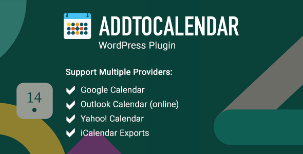[Free Download] AddtoCalendar – WordPress Event Plugin (Nulled) [Latest Version]
